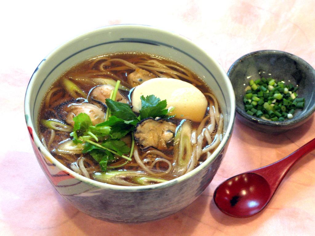牡蠣そば ¥920