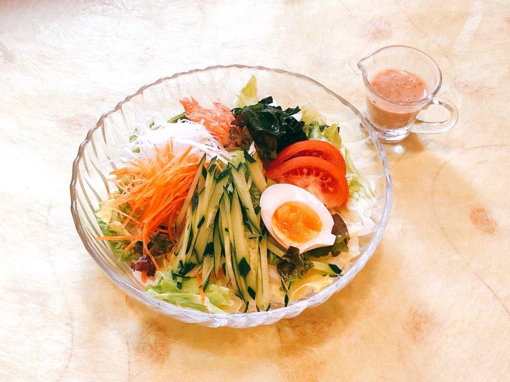 サラダそば ¥920